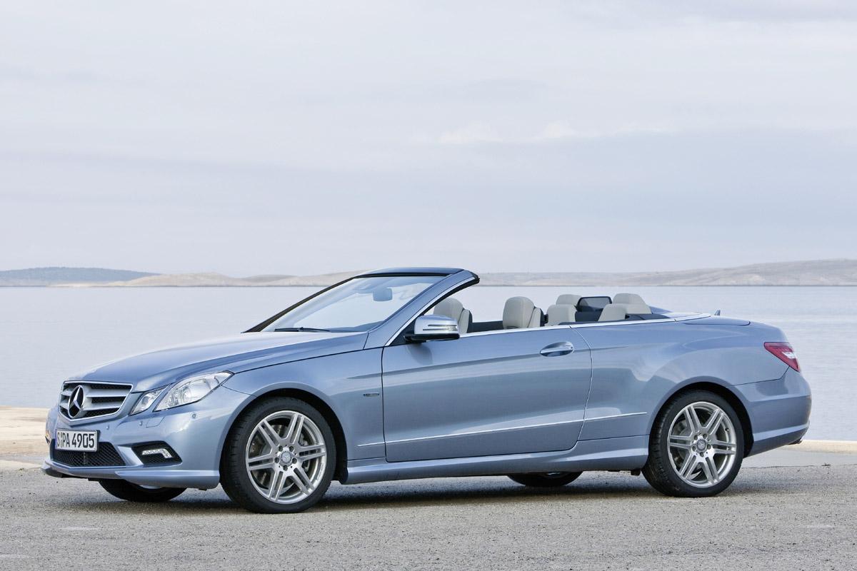 Mercedes-Benz Clase E Cabrio estático