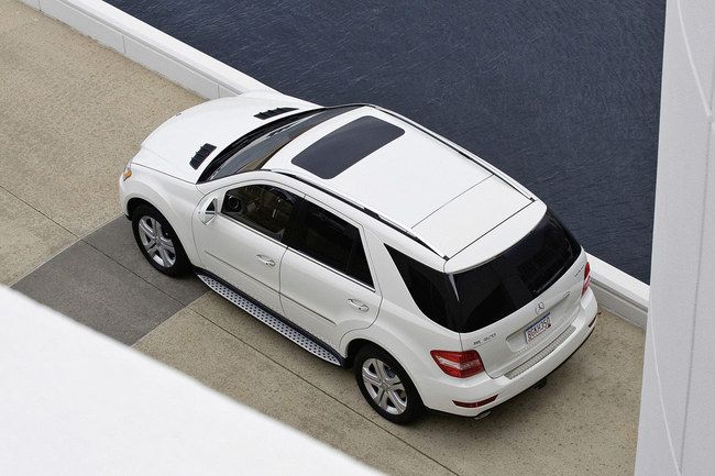 Mercedes Clase M 2008 vista aéreatal