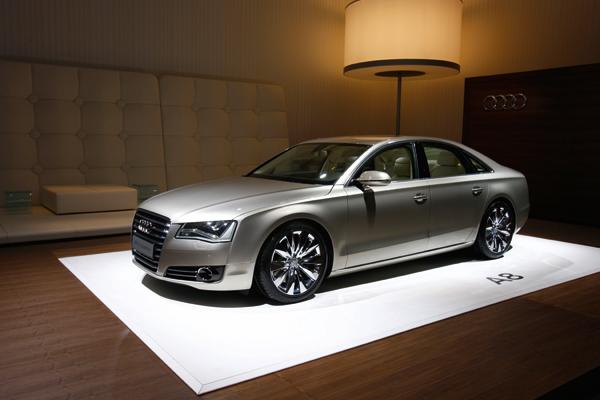 Presentación del Audi A8