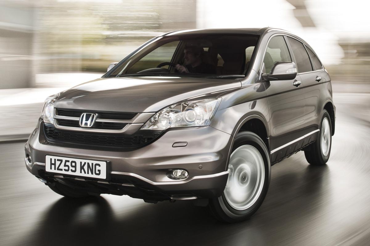 Honda CR-V 2010 vista estático