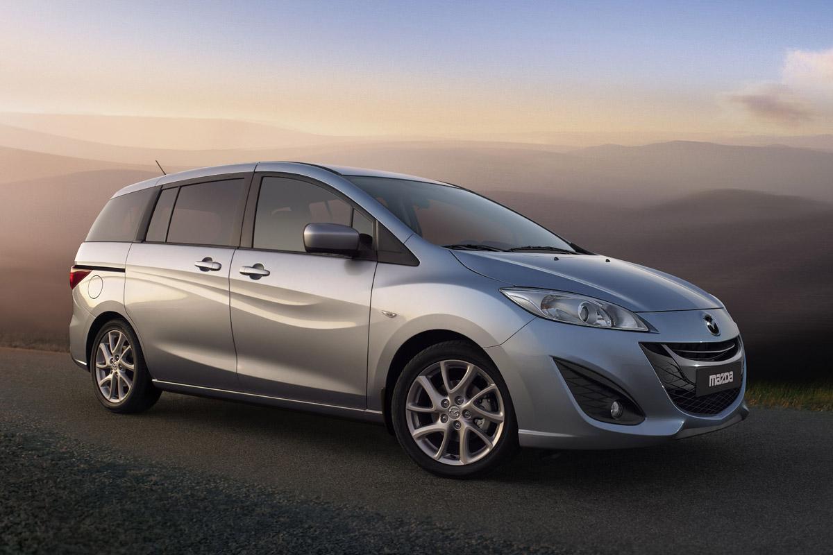 Mazda5 lateral
