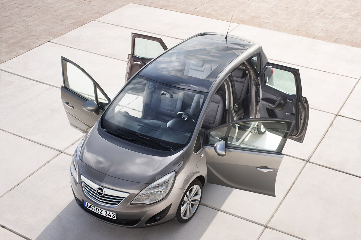 Opel Meriva puertas abiertas