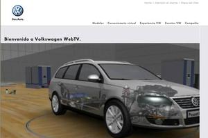 Web Volkswagen móvil