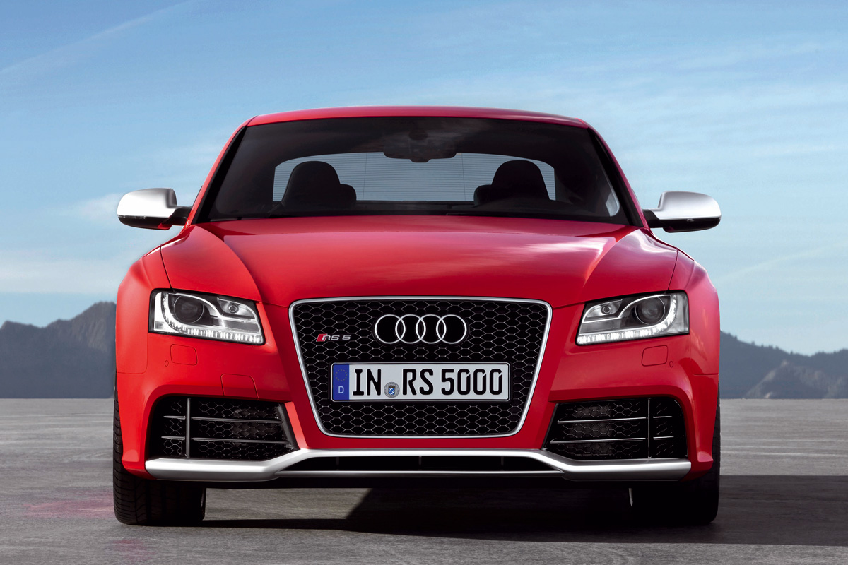 Audi RS 5 frontal