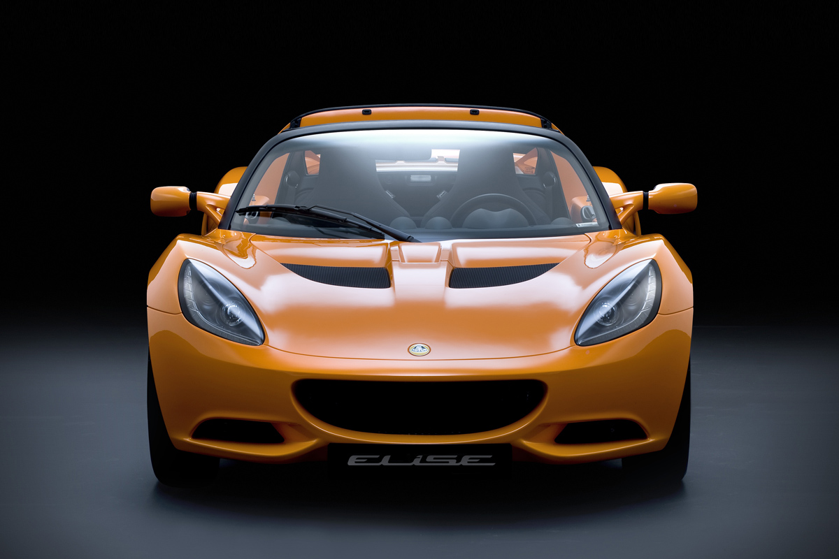 Lotus Elise frontal