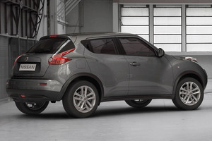 Nissan Juke gris lateral