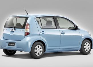 Subaru Justy 2008 vista estático