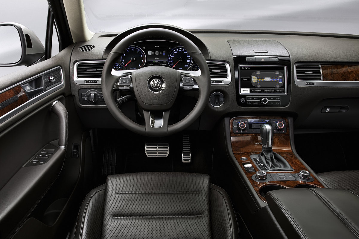 Volkswagen Touareg 2010 del salpicadero