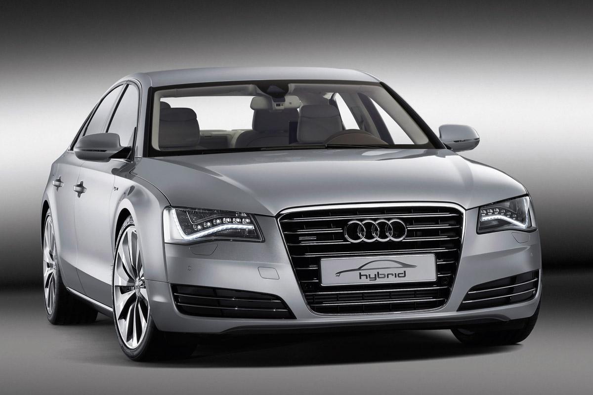 Audi A8 Hybrid estático