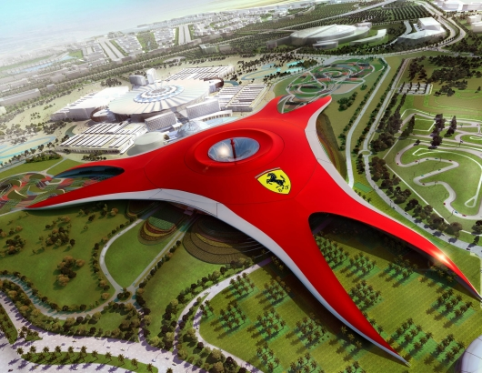 ferrari-world-roller-coaster-1