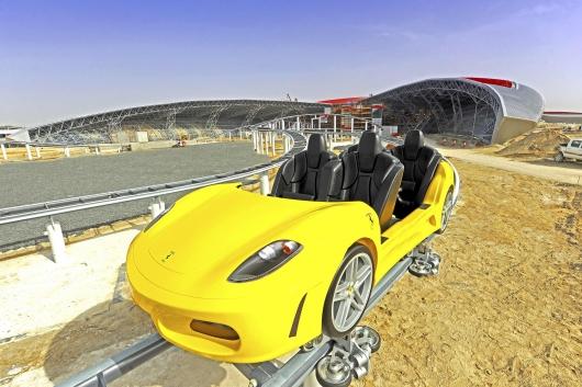 ferrari-world-roller-coaster