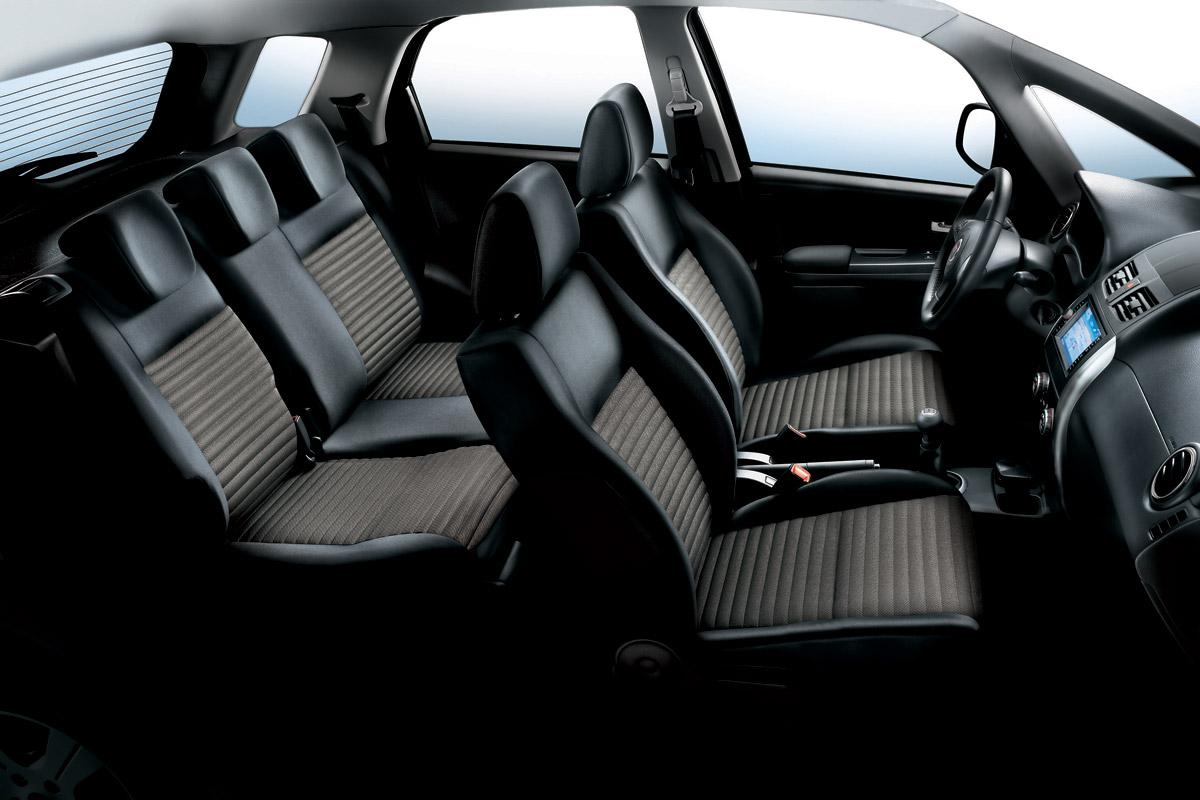 Fiat Sedici 2010 asientos
