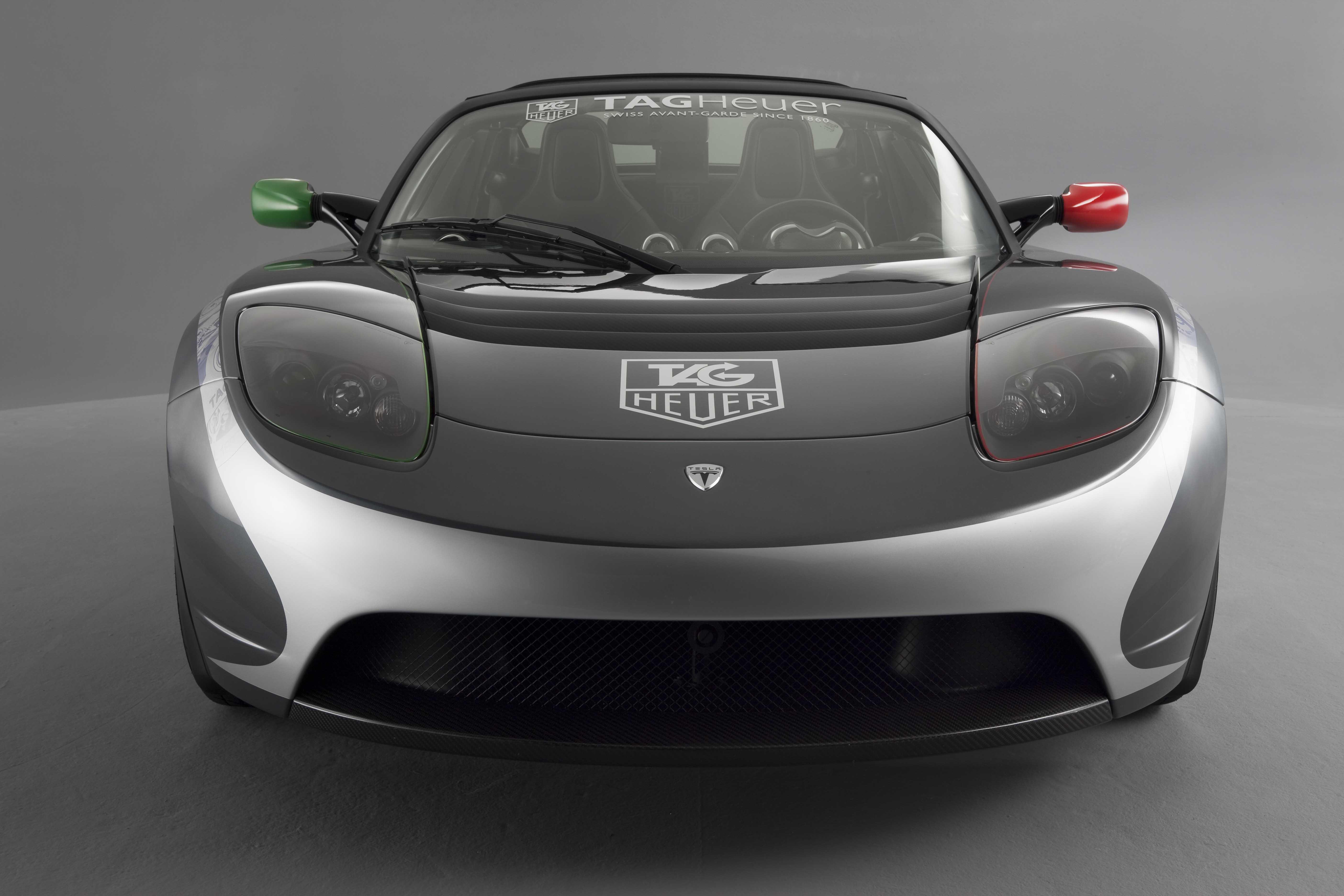 Tag Heuer Tesla Roadster El Coche Cron 243 Grafo