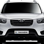 Hyundai Santa Fe 2011 frontal