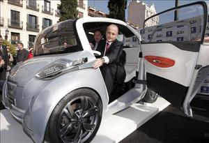 ministro industria coche electrico
