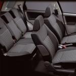 Suzuki SX4 2010 vista de los asientos