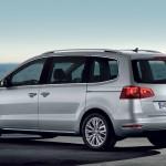 Volkswagen Sharan tres cuartos trasero