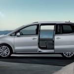 Volkswagen Sharan puertas abiertas