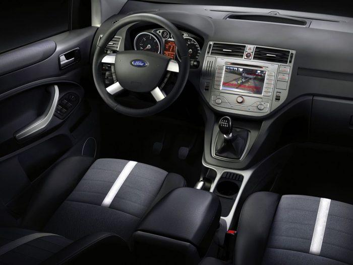 Ford Kuga 2008 plazas delanteras