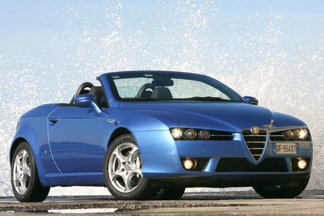 Alfa Romeo Spider estático