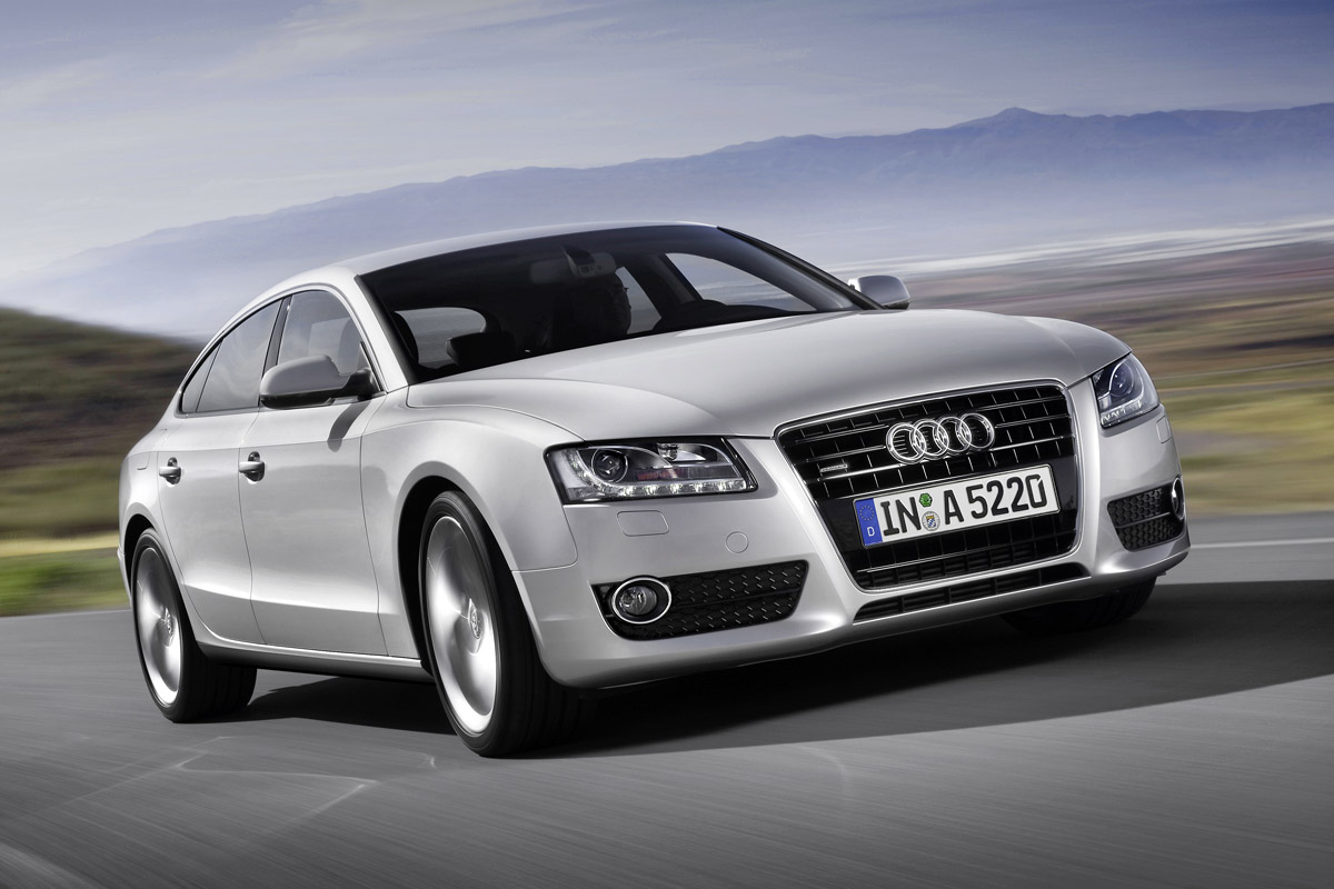 audi a5 sportback una berlina con alma de coup. Black Bedroom Furniture Sets. Home Design Ideas