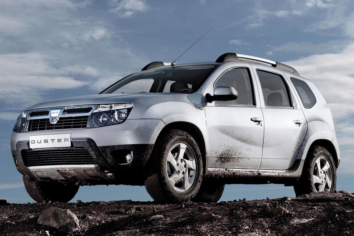 Dacia Duster frontal