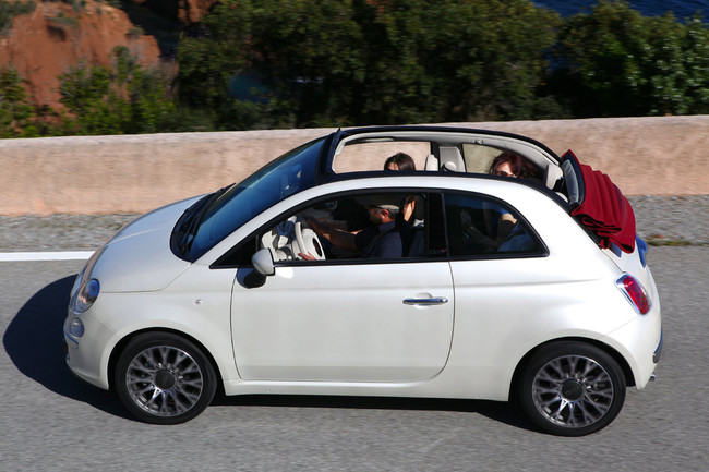 Fiat 500C lateral