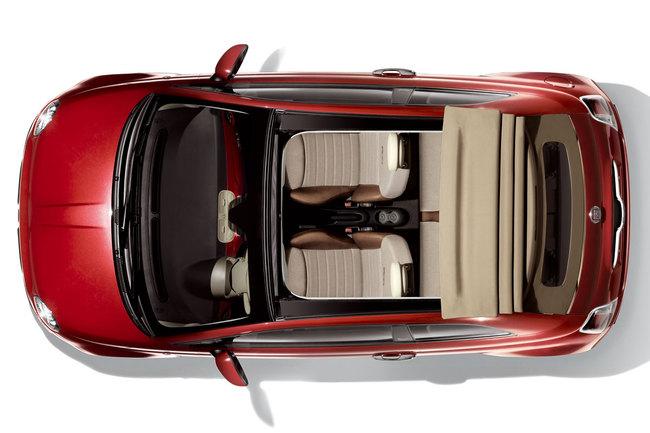 Fiat 500C cenital