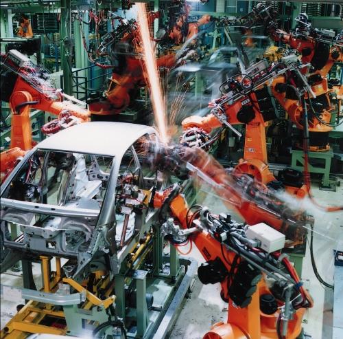 Cadena de montaje automóvil