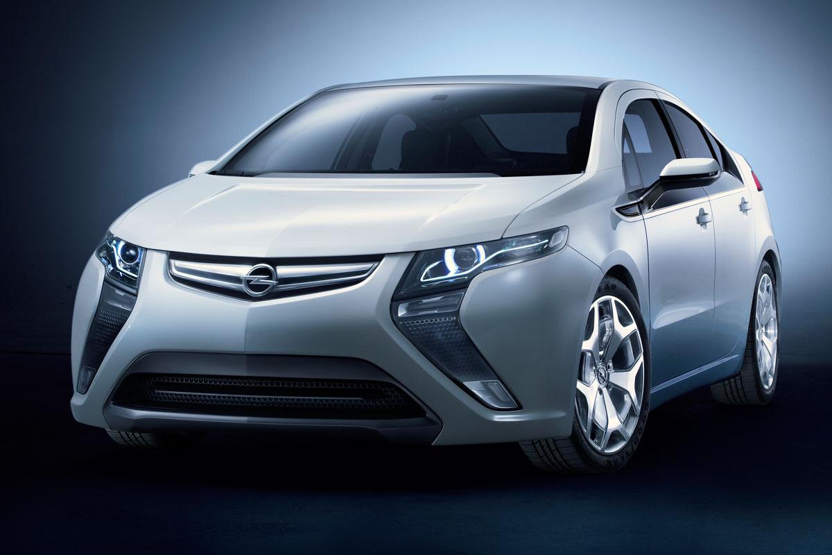 Opel Ampera frontal