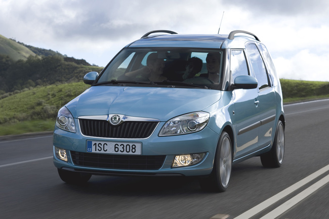 Skoda Roomster frontal