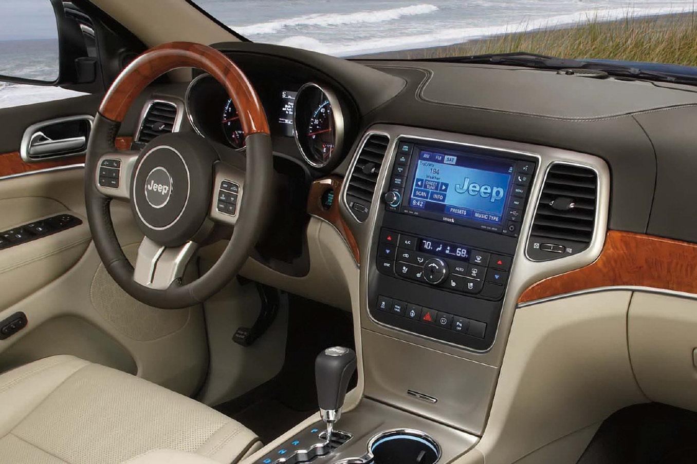 V8 Jeep Wrangler >> Más fotos del nuevo Jeep Grand Cherokee