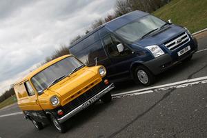 El antes y el ahora del Ford Transit