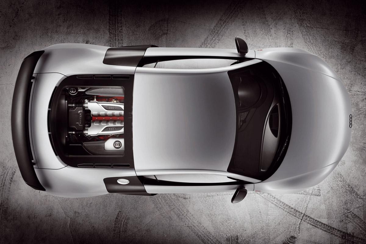 Audi R8 GT cenital