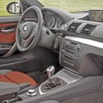 BMW Serie 1 Coupé vista del salpicadero