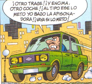 Subasta De Carros >> Los coches en los cómics (II)