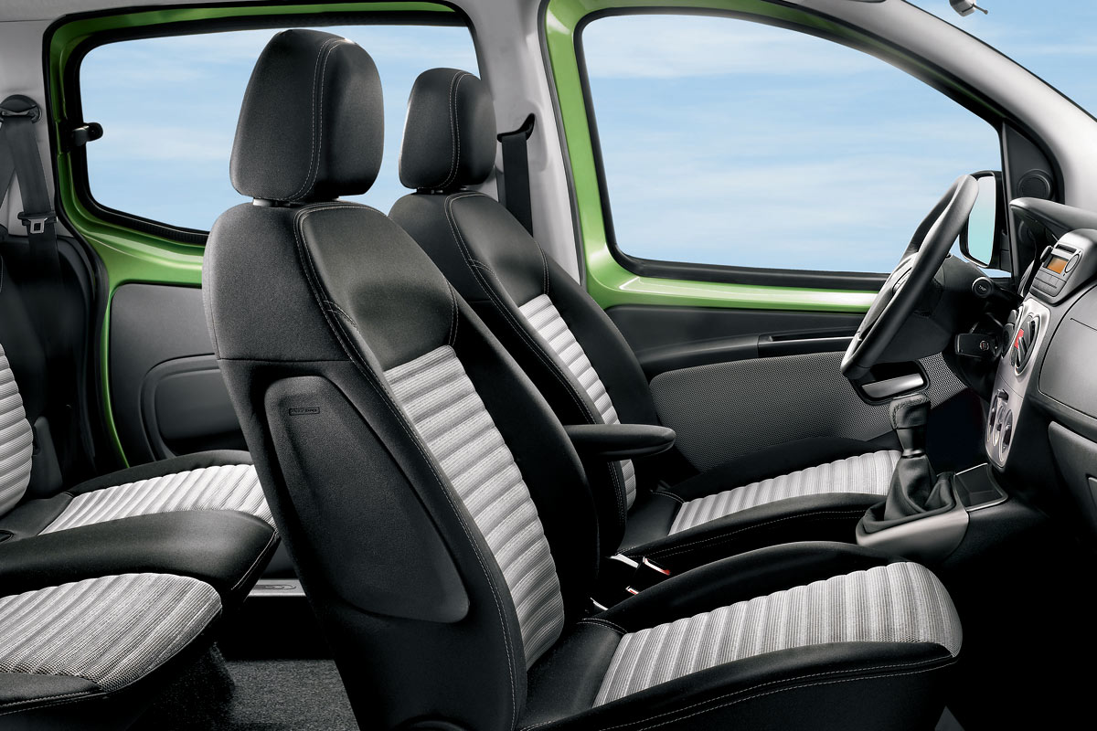 Fiat 500 Dimensions >> Fiat QUBO, el Fiorino Combi para pasajeros
