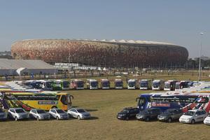 Flota de vehículos Hyundai para el Mundial