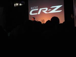 Discurso del presentacion Honda CR-Z