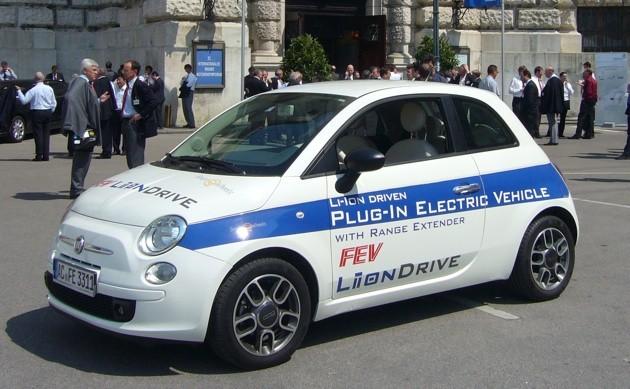 Fiat 500 Li-ion Drive