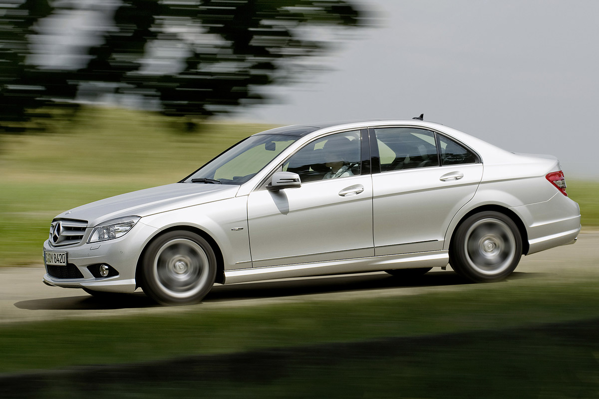 Mercedes-Benz Clase C BlueEFFICIENCY lateral