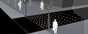 Los pasos de peatones LED del futuro