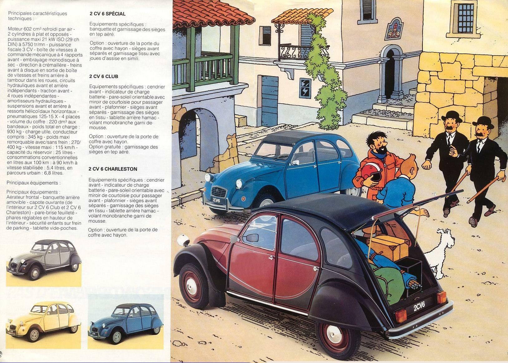 Citroen 2Cv For Sale >> Los coches en los cómics (I)