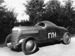 El GAZ GL-1 vio la luz en 1938.