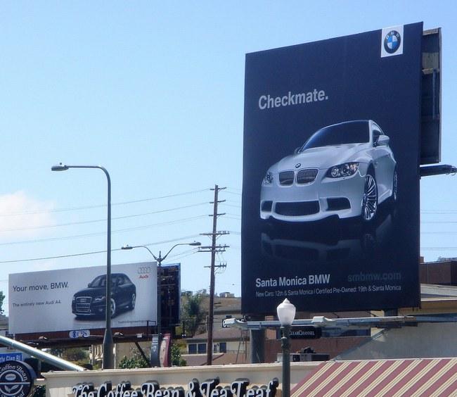 Guerra publicitaria Audi vs BMW