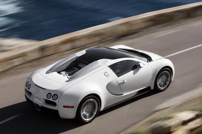 Bugatti Veyron 16.4 Grand Sport cenital
