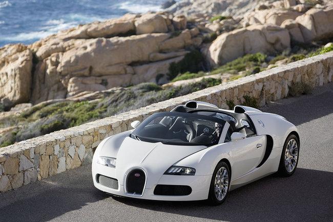 Bugatti Veyron 16.4 Grand Sport frontal
