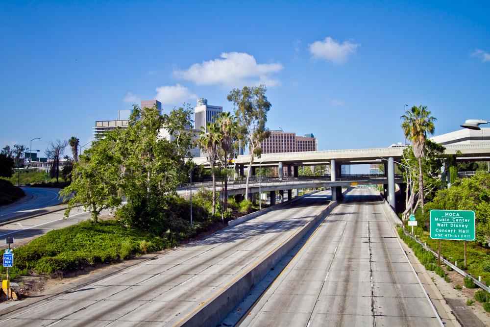 Los Ángeles sin coches
