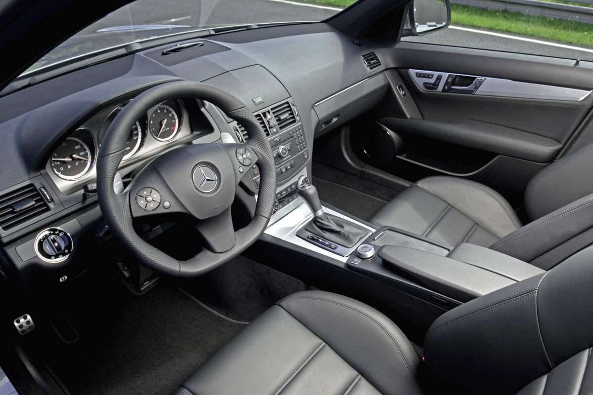 Mercedes benz clase c 63 amg el m s potente for Interior mercedes clase c