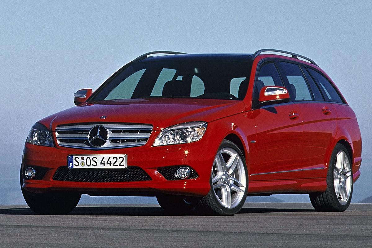 Mercedes-Benz Clase C Estate estático